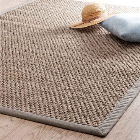 tapis tress 233 en sisal beige 160 x 230 cm bastide maisons du monde