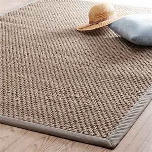 Teppich 230 X 230 : tapis tress en sisal beige 160 x 230 cm bastide maisons du monde ~ Indierocktalk.com Haus und Dekorationen