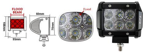 philips led lighted train engine 2x 18w 4 inch cree led work light bar driving flood l