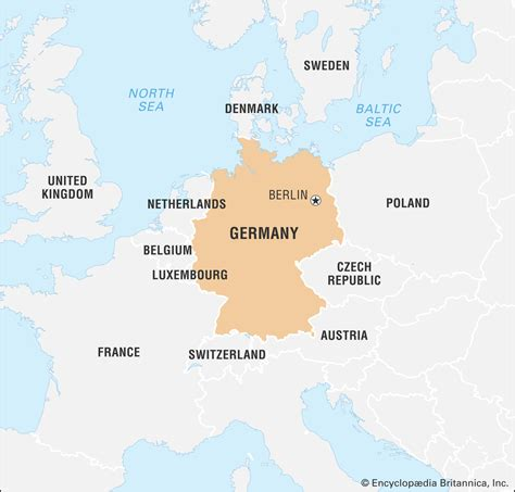 Germany map germany officially federal republic of germany. Germany On The World Map