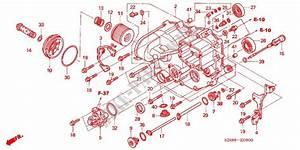 Front Crankcase Cover For Honda Fourtrax 680 Rincon Gps