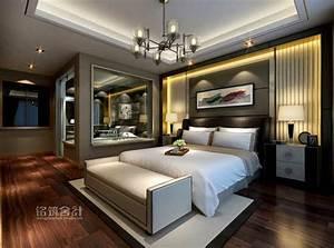 Elegant Modern Bedroom Houses Interior Design Ideas