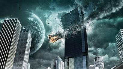 1440 2560 Wallpapers Digital Meteorite Crash Cool