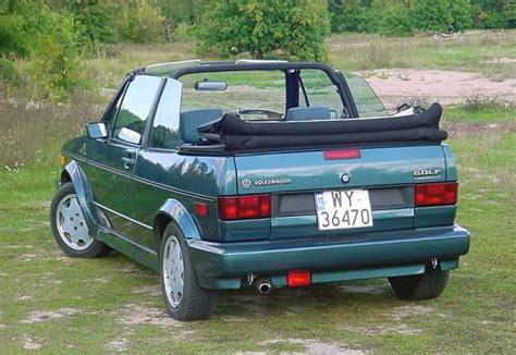 golf aigner 1991 volkswagen cabriolet specs modification info at cardomain