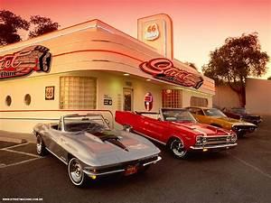 American Diner Wallpaper : retro diner wallpaper wallpapersafari ~ Orissabook.com Haus und Dekorationen