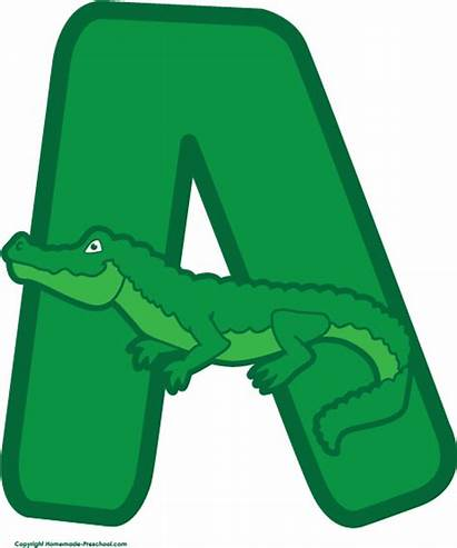 Alligator Clipart Preschool