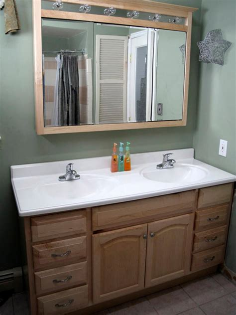 installing  bathroom vanity hgtv
