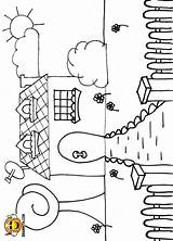 Gate Coloring Colouring Drawwith Includes Along Which Pages sketch template