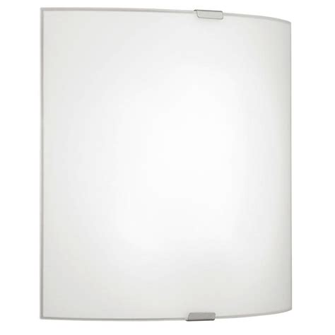 eglo grafik 1 light matte nickel wall ceiling surface