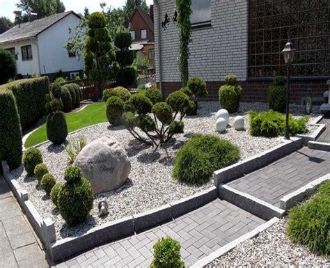 Garten Gestalten Mit Steinen by Vorgarten Gestalten Steine Leamarieravotti Best Garten