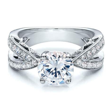 Split Shank Diamond Engagement Ring  Vanna K #100110. Signature Rings. Mens Half Wedding Rings. Fake Wedding Rings. Oversized Rings. Diamond Square Engagement Rings. Dragon Wedding Rings. Hawaiian Wood Wedding Rings. Cathedral Rings