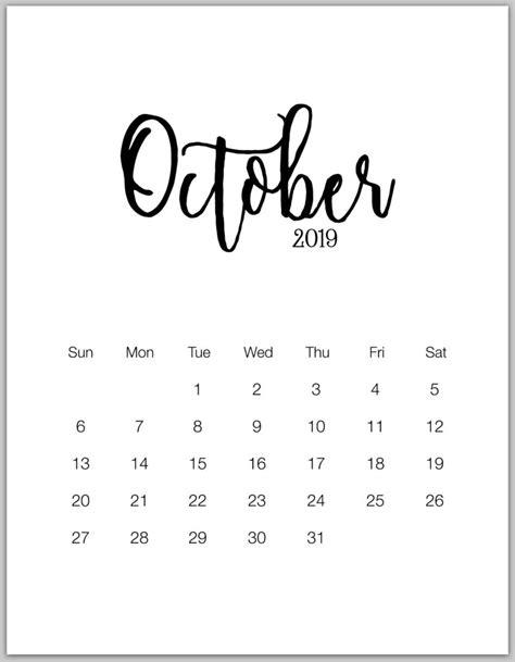 october calendar blank templates print calendar