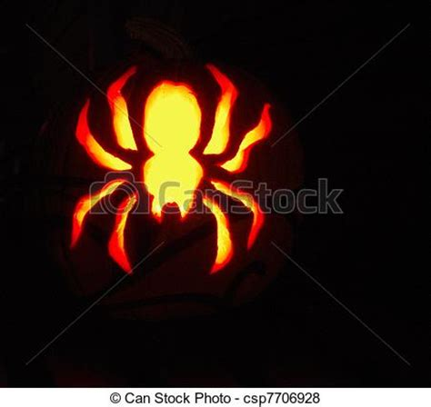 spider o lantern pattern stock illustration of spider o lantern spider design of a jack o lantern for csp7706928