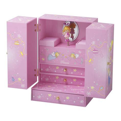 coffre a bijoux fille indogate chambre de princesse pour fille