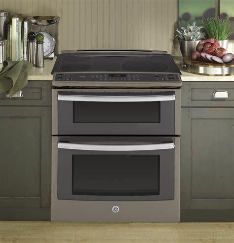 ge profile series    double oven electric convection range psefes ge appliances