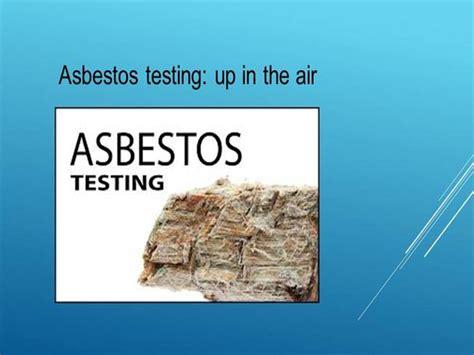 asbestos testing logan city authorstream