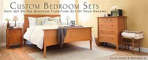 Vermont Woods Studios Solid Wood Furniture American Made