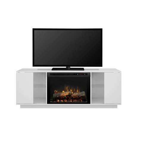 dimplex electric fireplace tv stand dimplex flex 64 in freestanding media console