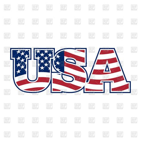Letter Usa by Usa Letters Vector Image Of Fonts Type 169 Popaukropa