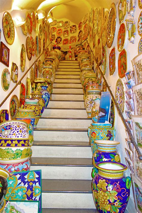amalfi coast ceramics italian travel how to buy ceramic in amalfi coast go ahead tours travel blog
