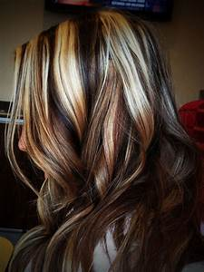 Pics Of Blonde Highlights Red Lowlights And Black