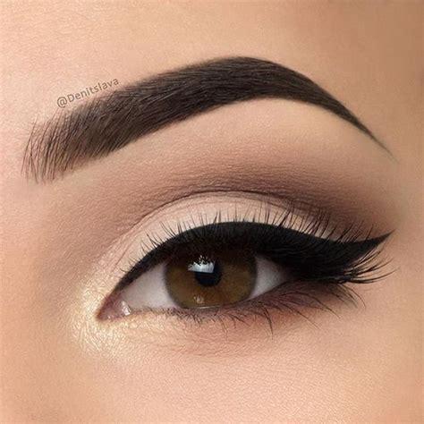 wedding makeup  brown eyes    cute