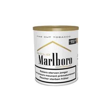 pot de tabac 224 rouler tuber marlboro gold achat de