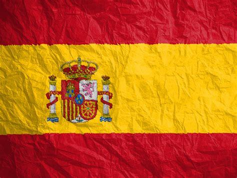 flagge spaniens  hintergrundbild