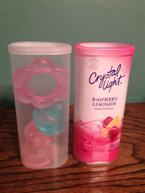 Reuse A Crystal Light Packet Container For On The Go