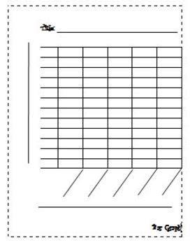 Blank Bar Graph By Learning With Leann  Teachers Pay Teachers
