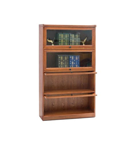 Oak Barrister Bookcase by 36 Inch Oak Barrister Bookcase Simply Woods Furniture