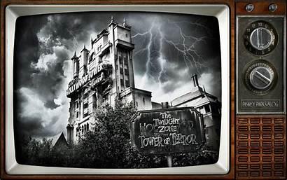 Terror Tower Disney Twilight Zone Desktop Halloween