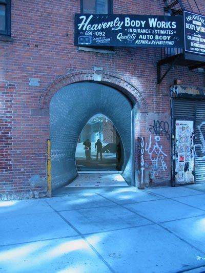 york architecture images chelsea comme des garcons