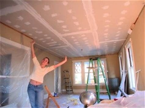 hanging drywall on ceiling plaster drywall the s home remodeling repair