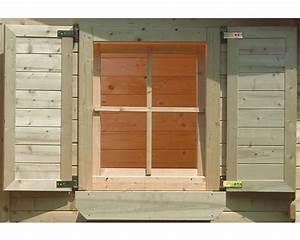 Fensterläden Selber Bauen : fensterl den karibu 34x80 cm natur kaufen bei ~ Frokenaadalensverden.com Haus und Dekorationen
