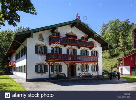 kochel   kochelsee bauernhaus bayern oberbayern