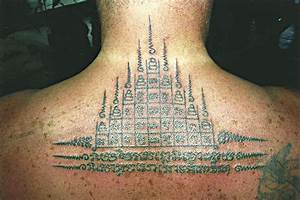 Buddhist Design - Big Magic Tattoo, Koh Phangan, Thailand