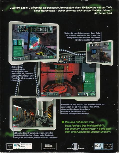 System Shock 2 1999 Windows Box Cover Art Mobygames