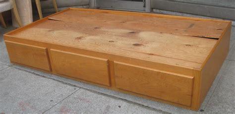 build twin captains bed plans  woodworking plans
