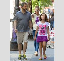 Leslie Mann And Judd Apatow Take Daughter Iris For A