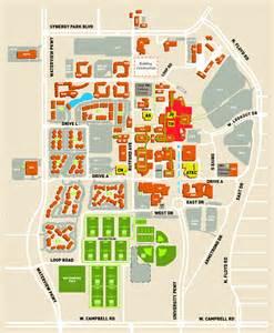 UT Dallas Campus Map