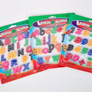 2016 magnetic number plastic stick capital letters With plastic magnetic letters bulk