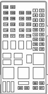 Ford Transit Mk6  2000 - 2005   U2013 Fuse Box Diagram  Eu Version