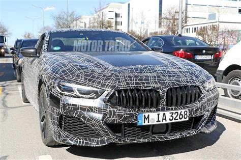 Spied! Bmw 8 Series Coupe And Convertible Go For A Drive