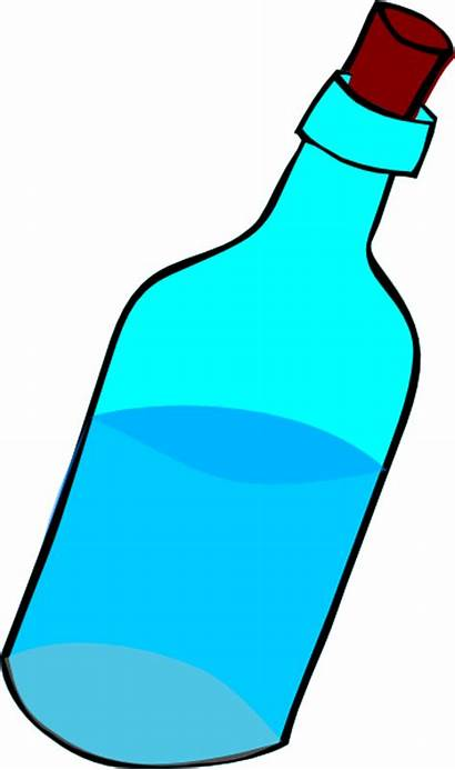 Water Clipart Bottle Clip Cliparts Butelka Cartoon