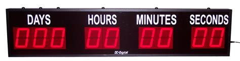 party planners count timer dc dn dc digital