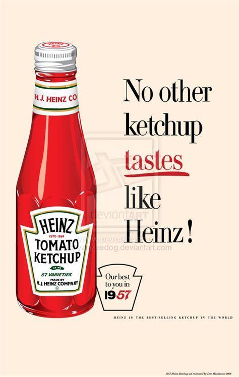 1957 Heinz Ketchup ad by yankeedog on deviantART | Tomato ...