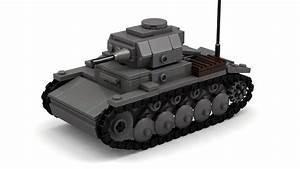 Lego Wwii German Panzer Ii Tank Instructions