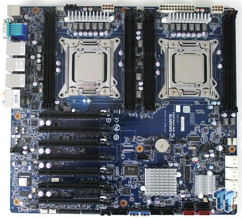 gigabyte ga pesh intel  workstation motherboard review