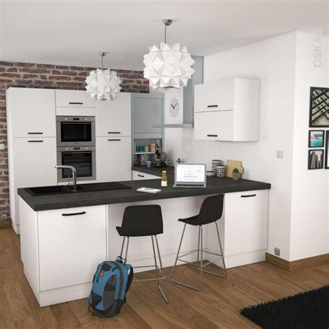 cuisine oskab ginko blanc meuble haut abattant h35 1 porte l80xh35xp37